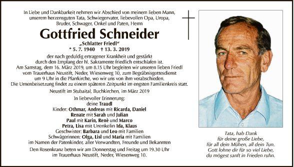Gottfried Schneider