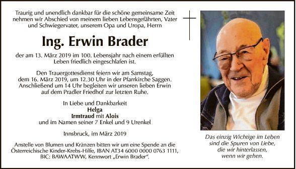 Ing. Erwin Brader