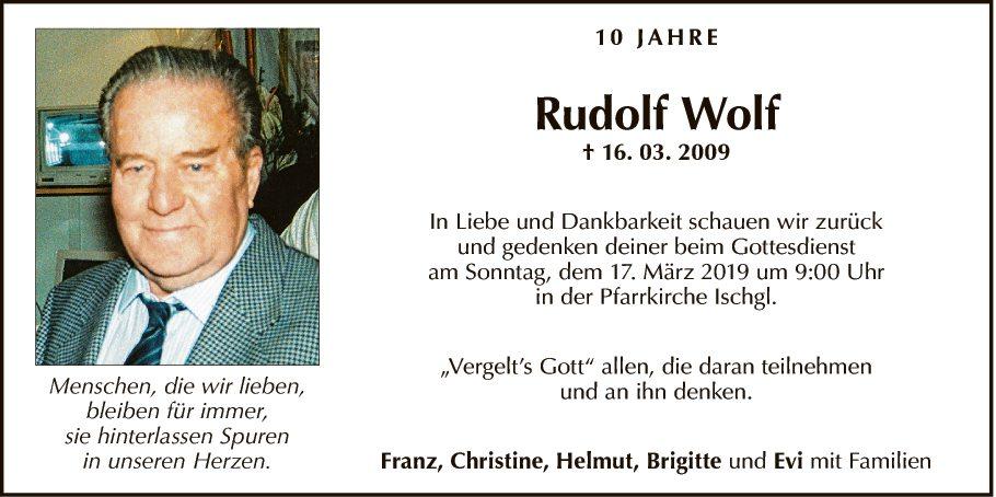 Rudolf Wolf
