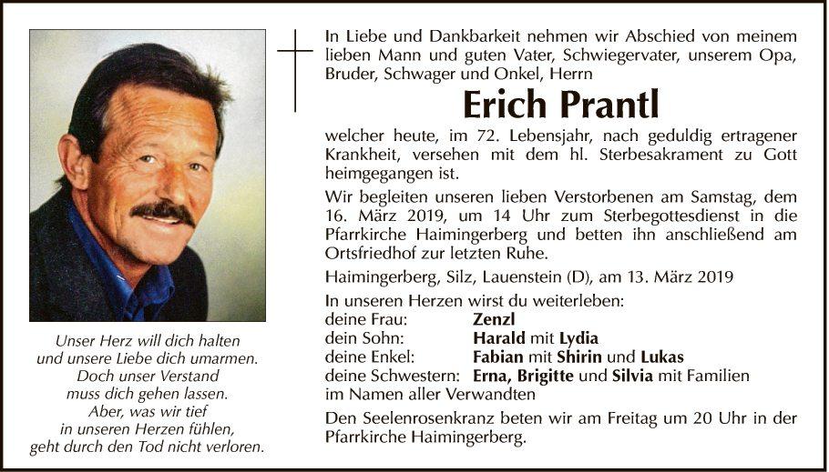 Erich Prantl