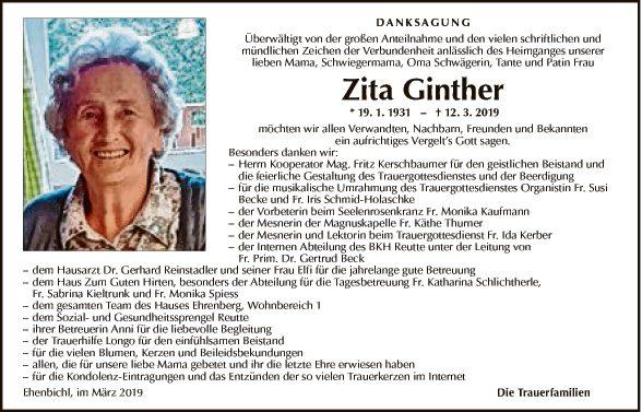 Zita Ginther