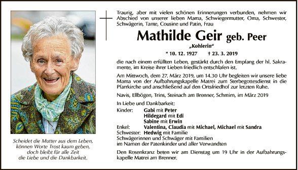 Mathilde Geir
