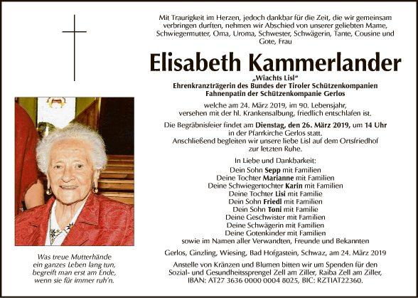 Elisabeth Kammerlander