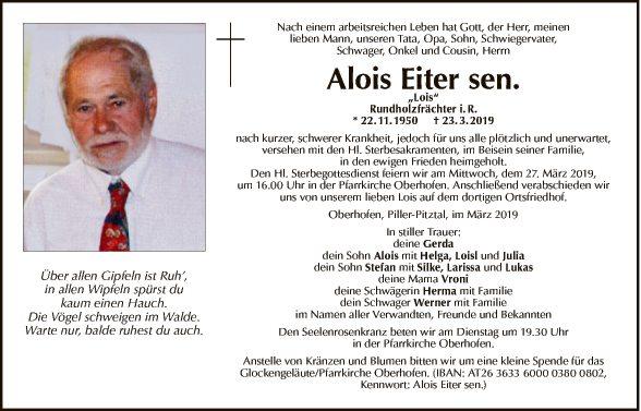 Alois Eiter