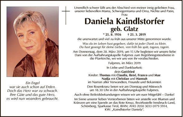 Daniela Kaindlstorfer
