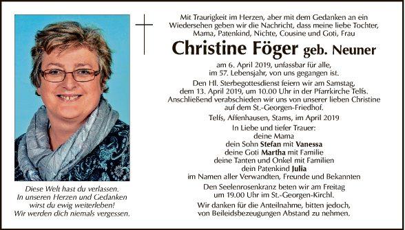 Christine Föger