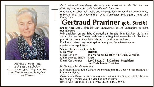 Gertraud Prantner