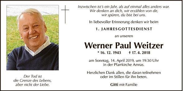 Werner Weitzer