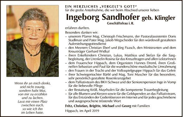 Ingeborg Sandhofer