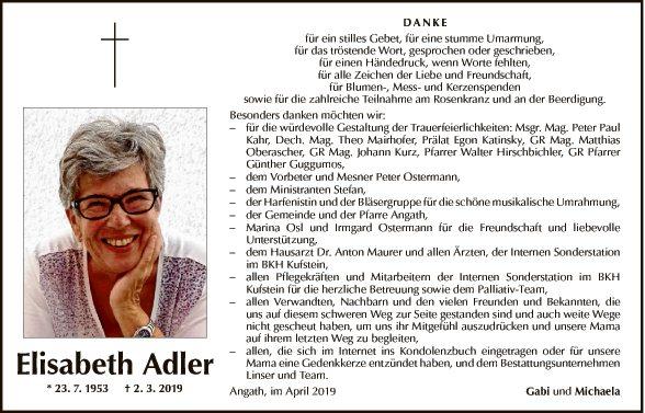 Elisabeth Adler