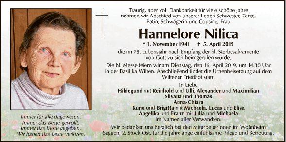 Hannelore Nilica