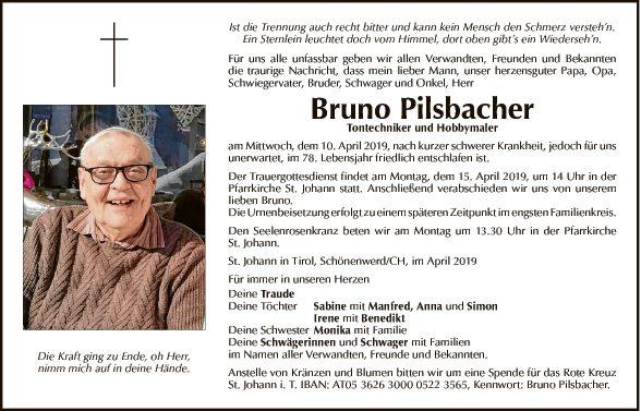 Bruno Pilsbacher