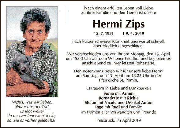 Hermine Zips
