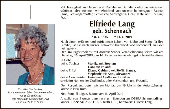 Elfriede Lang