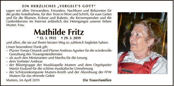 Mathilde Fritz