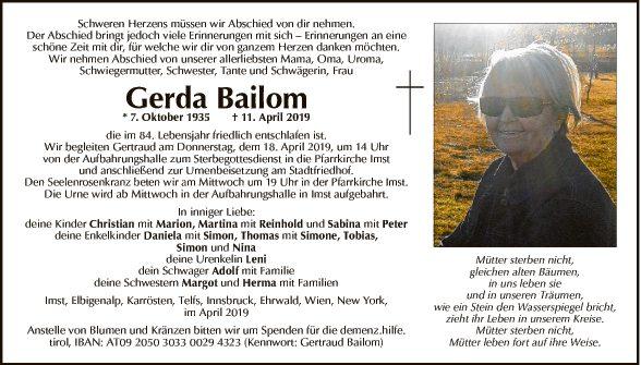 Gerda Bailom