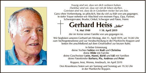 Gerhard Heiss