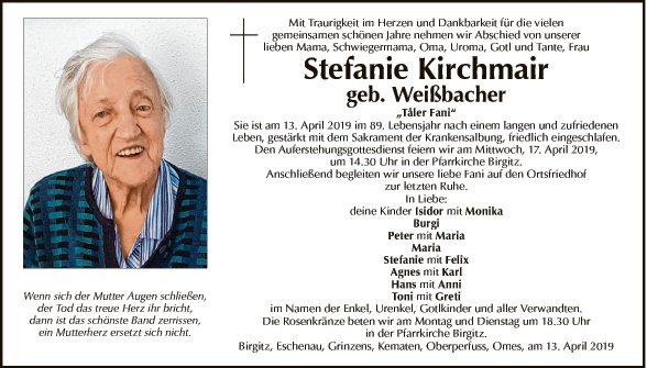 Stefanie Kirchmair