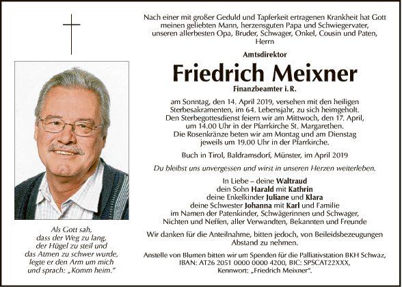 Friedrich Meixner