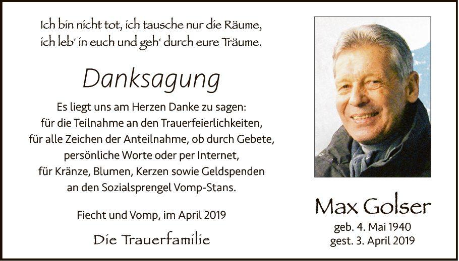 Max Golser