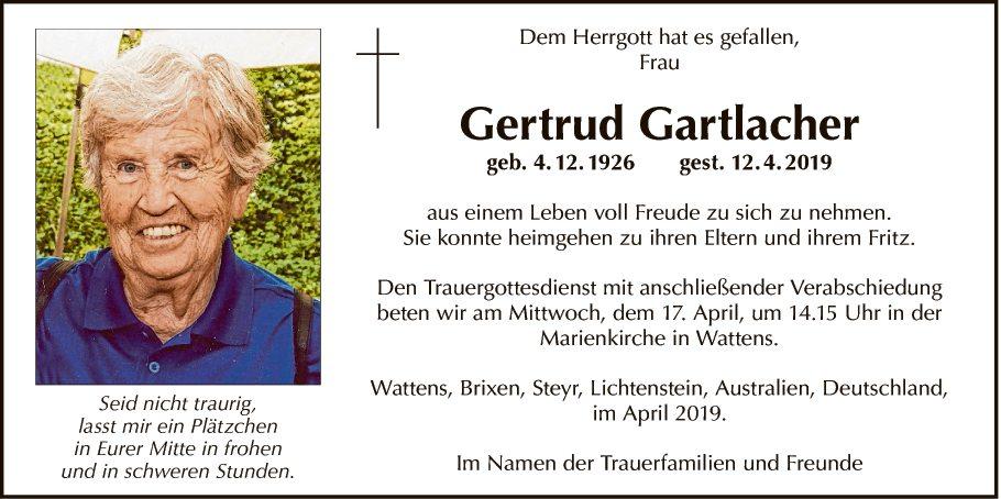 Gertrud Gartlacher