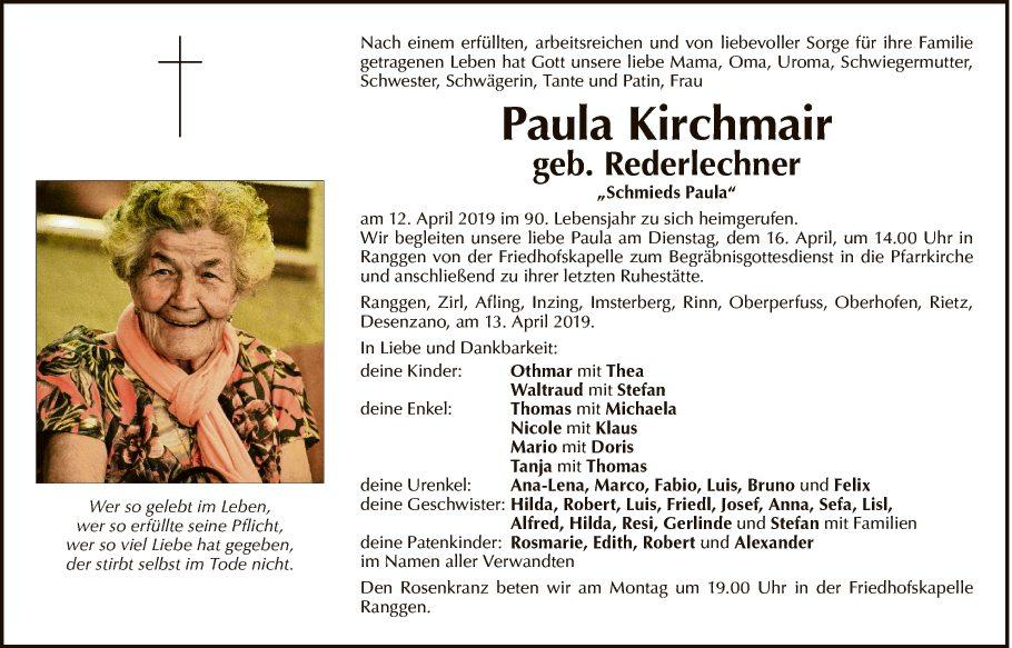 Paula Kirchmair