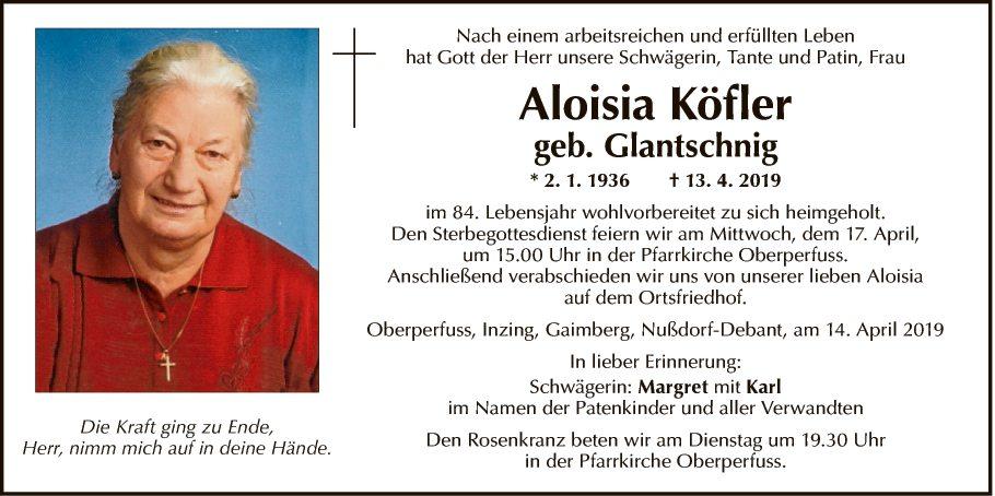 Aloisia Köfler