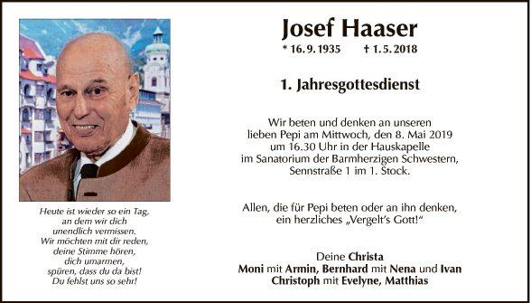 Josef Haaser