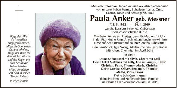 Paula Anker
