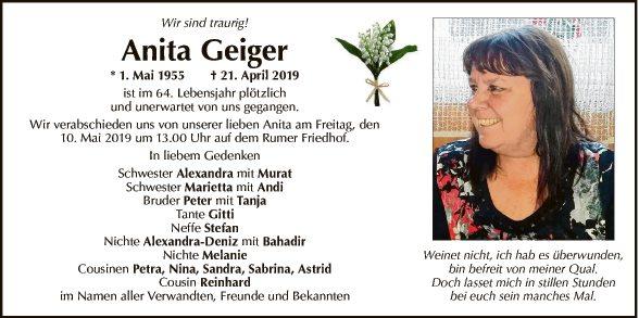 Anita Geiger