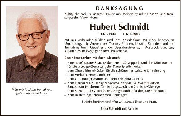 Hubert Schmidt