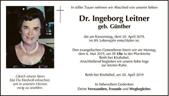 Ingeborg Leitner