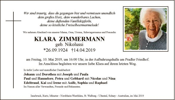Klara Zimmermann