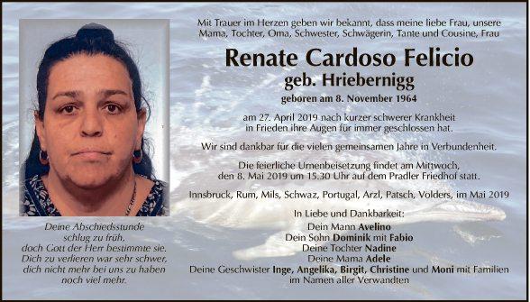 Renate Cardoso Felicio