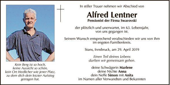 Alfred Lentner