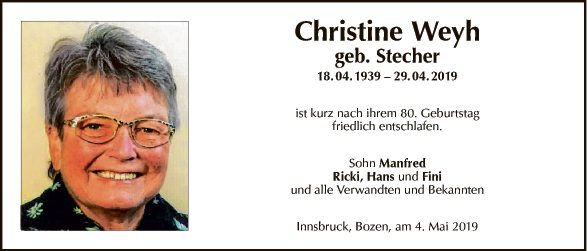 Christine Wehy