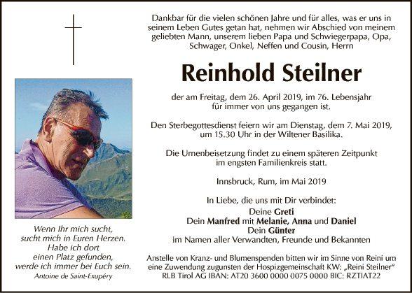 Reinhold Steilner
