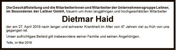 Dietmar Haid