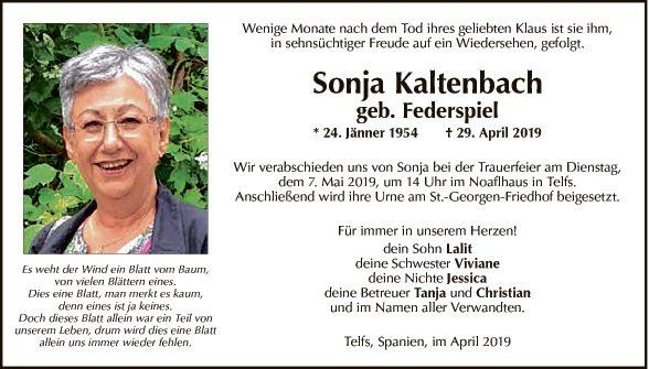 Sonja Kaltenbach