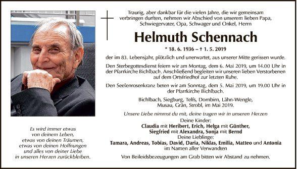 Helmuth Schennach