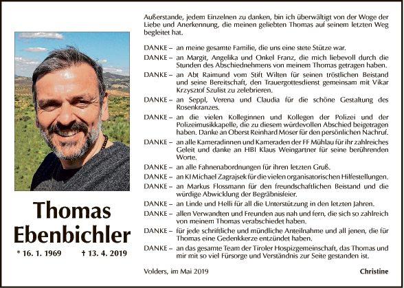 Thomas Ebenbichler