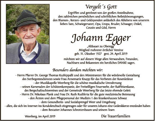 Johann Egger