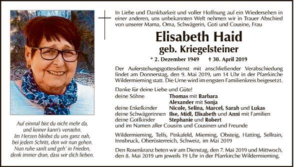 Elisabeth Haid