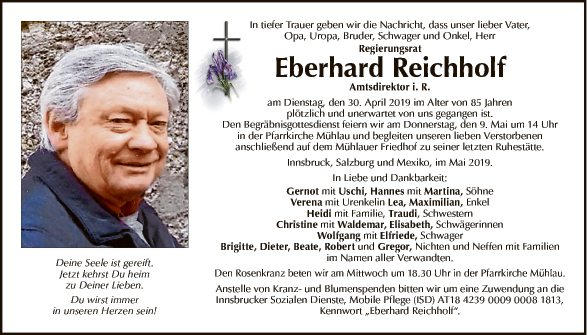 Eberhard Reichholf