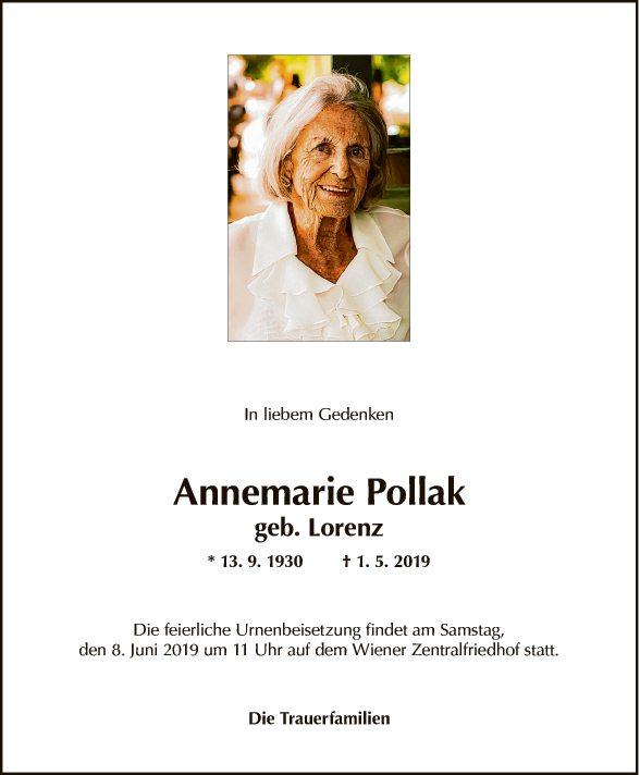 Annemarie Pollak