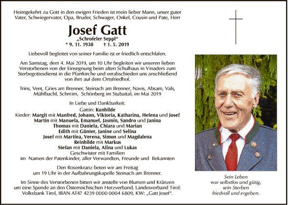 Josef Gatt