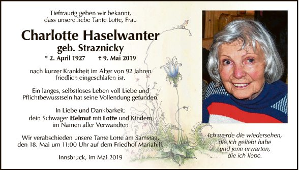 Charlotte Haselwanter