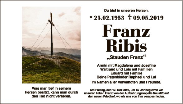 Franz Ribis