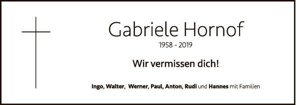 Gabriele Hornof