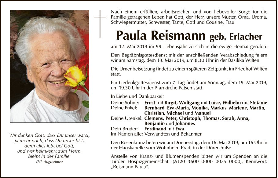 Paula Reismann